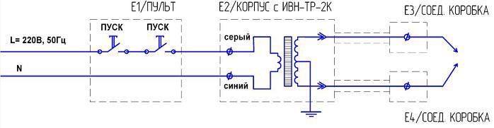 Рисунок 8.1 – Схема